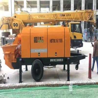 湖南和宇混凝土输送泵操作规程